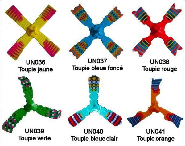 Toupies - UN036 à UN041 - 2010-2011