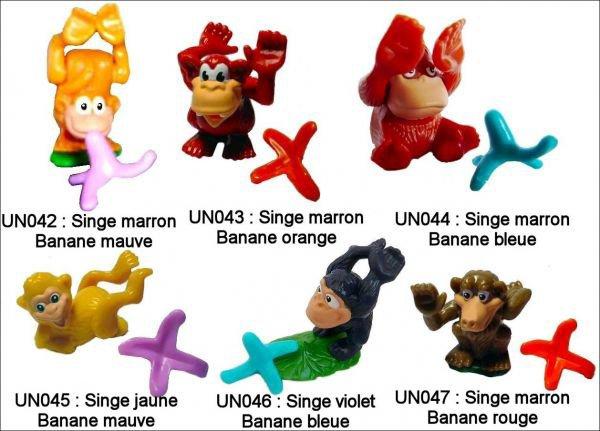 Singes - UN042 à UN047 - 2010-2011