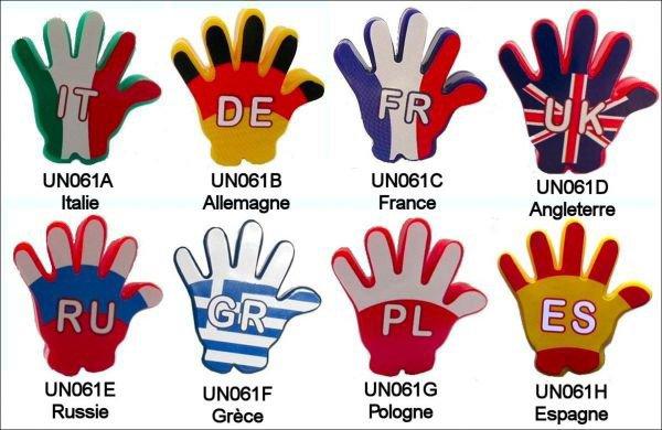 Bagues Tampons Bonjours - UN061A à UN061H - 2010-2011