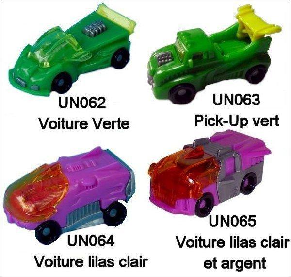 Voitures - UN062 à UN065 - 2010-2011