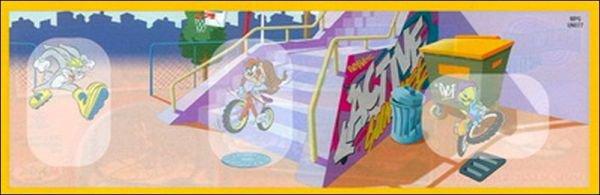 Looney Tunes - hologrammes - UN076 à UN078 - 2010-2011
