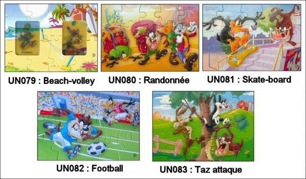 Puzzle - UN079 à UN083 - 2010-2011