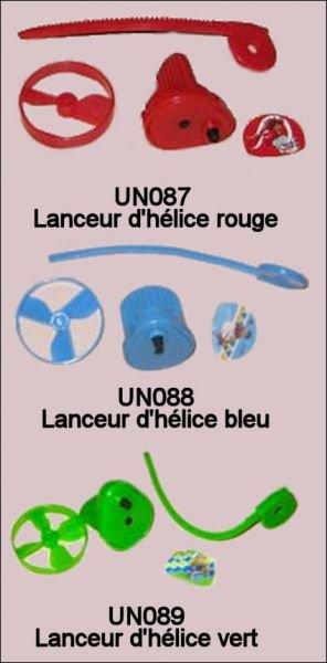 Lanceurs - UN087 à UN089 - 2010-2011