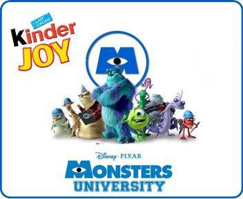 Nouveauté à venir kinder joy - Monstres Academy - TR250 à TR258 - 2013