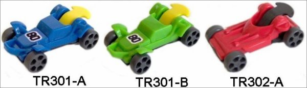 Kinder Joy - Buggy - TR301A à TR301C - 2013