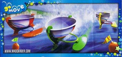 Kinder Joy - Bateaux - TR322A à TR323B - 2013