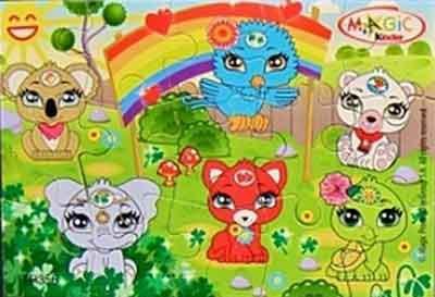 Kinder Joy - Puzzle - TR356 à TR357 - 2013
