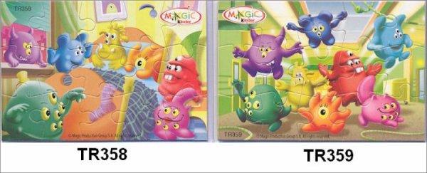 Kinder Joy - Puzzle - TR358 à TR359 - 2013