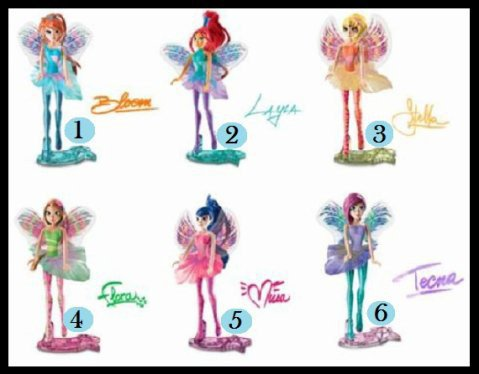 MAXI KINDER SURPRISE -  Winx Club - 2013