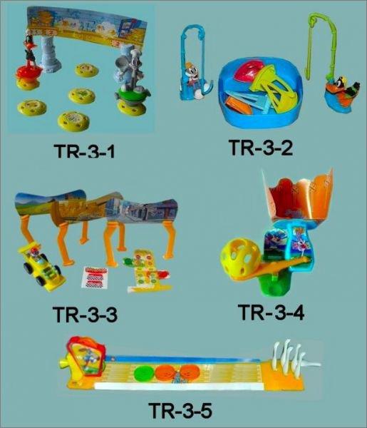 Looney Tunes Show - Maxi Kinder - TR-3-1 à TR-3-5 - 2013