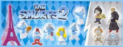 Nouveauté à venir kinder - Schtroumpfs 2 & les Princesses Disney - 2013-2014