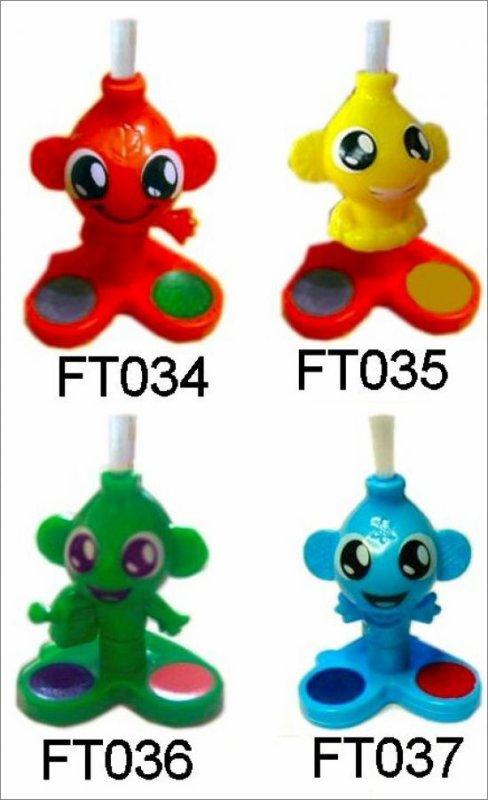 Pinceaux - Kinder Mixart - FT034 à FT037
