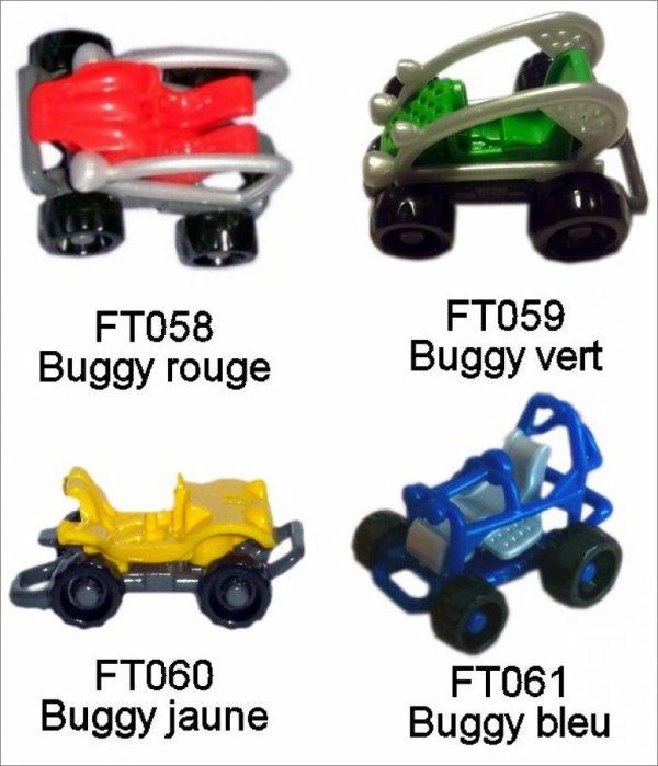 Buggys - Kinder Sprinty - FT058 à FT061 - 2013