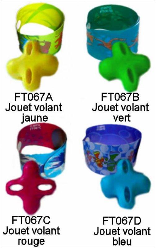 Jouets Volants - Go moves - FT067A à FT067D