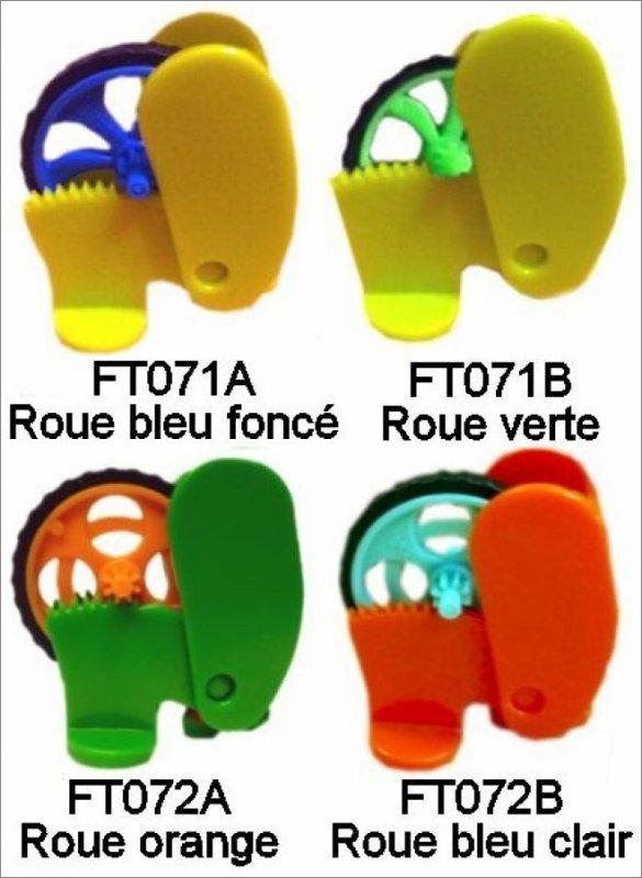 Lances Roues Go Move - FT071A, FT071B, FT072A, FT071B, 2013