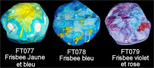 Frisbee - Go moves - FT077 à FT079