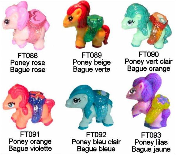 Poney - FT088 à FT093