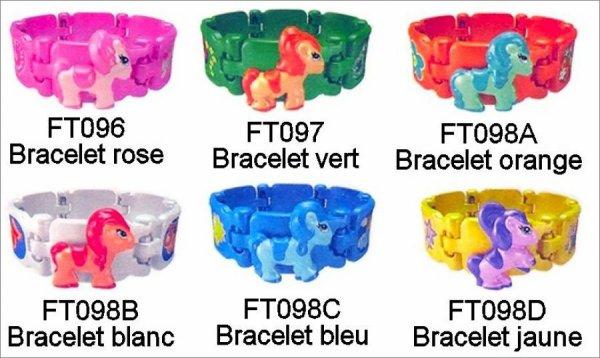 Bracelets Poney - FT096 à FT098D