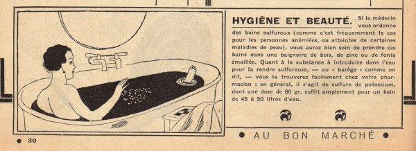 CATALOGUE BON MARCHÉ 1930 , 27 janvier