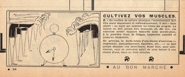CATALOGUE BON MARCHÉ 1930 , 11 janvier