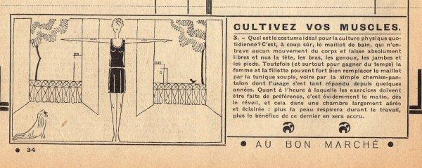 Catalogue du BON MARCHÉ 1930 1er février