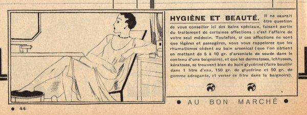 Catalogue du BON MARCHÉ 1930 21 février