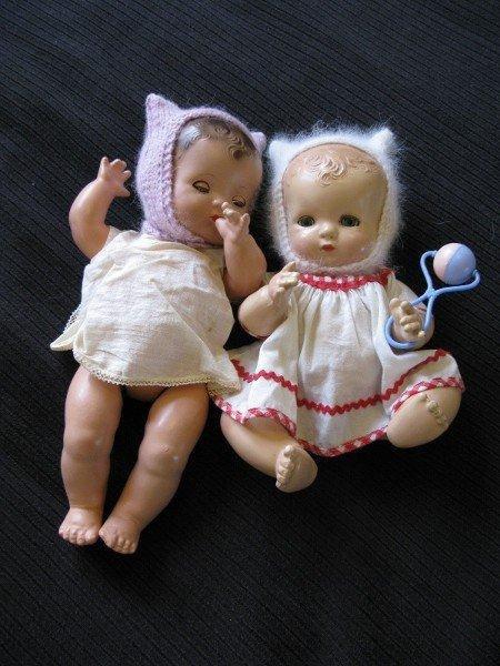 Les petits Effanbee de ma fille