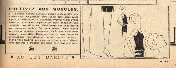 Catalogue du BON MARCHÉ 1930, 1er mars (en retard!)