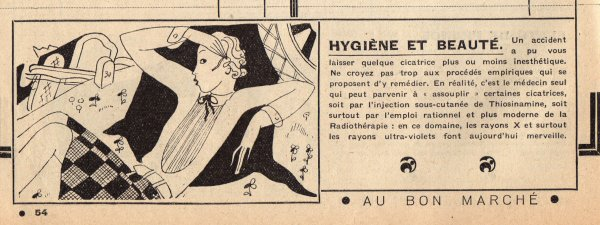 Catalogue du BON MARCHÉ 1930, 11 mars