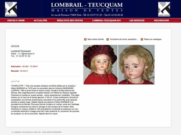 Une poupée que j'aurai peut-être un jour...