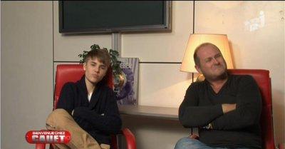 """Justin a l'émission """" Bienvenue chez Cauet """""""