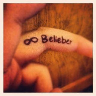 Photo que Justin aurai poster  sur Twitter