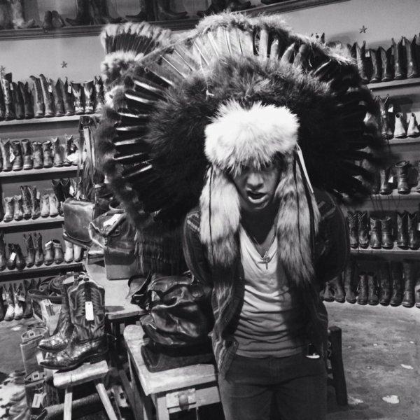 Une des photos de profil Twitter d'Harry (ma préférée ! :D)