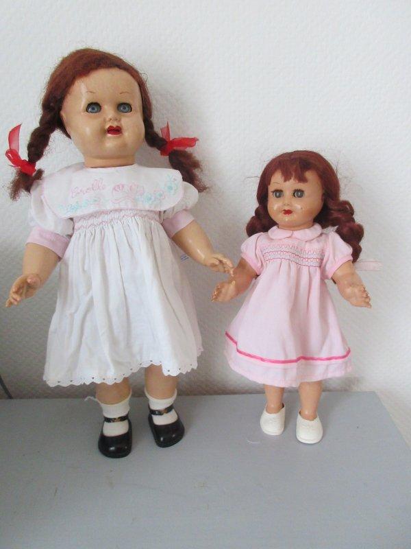 Prunelle et Framboise poupées Urika