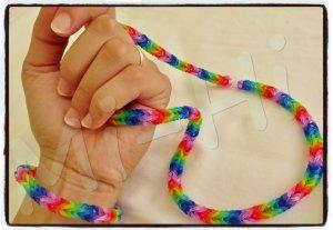 Découverte des rainbow loom bracelets