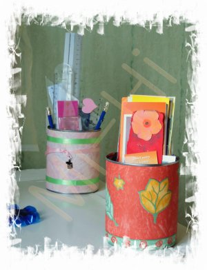 boîtes de conserve DIY
