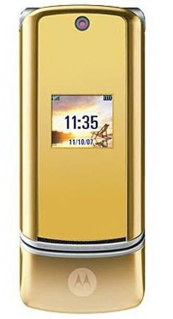 Motorola KRZR K1 Gold Unlocked