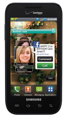 Samsung Fascinate Verizon Wireless Android