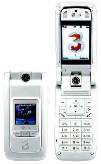 LG U880 Silver Unlocked