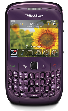 Blackberry Curve 8520 Purple Unlocked