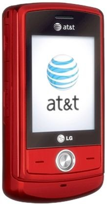 LG CU720 Shine Red AT&T Unlocked