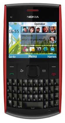 Nokia X2-01 Qwerty Unlocked