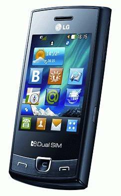 LG P520 Dual Sim Unlocked