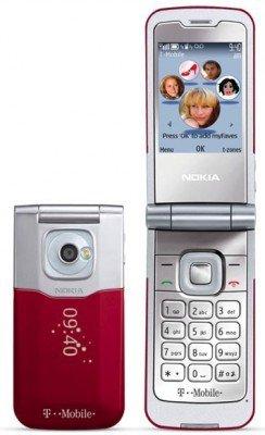 Nokia 7510 Supernova Red