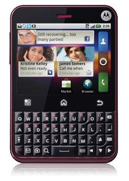 Motorola Charm MB502 Cabernet (T-Mobile)