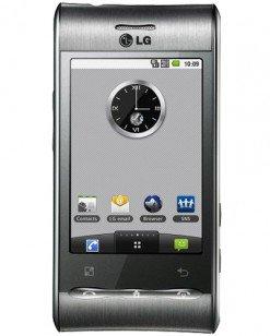 LG GT540 Optimus Titanium Silver