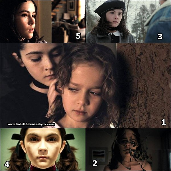. Découvrez mes 5 stills favoris d'ESTHER numéroté dans l'ordre ! Et vous quel est votre ordre ? .