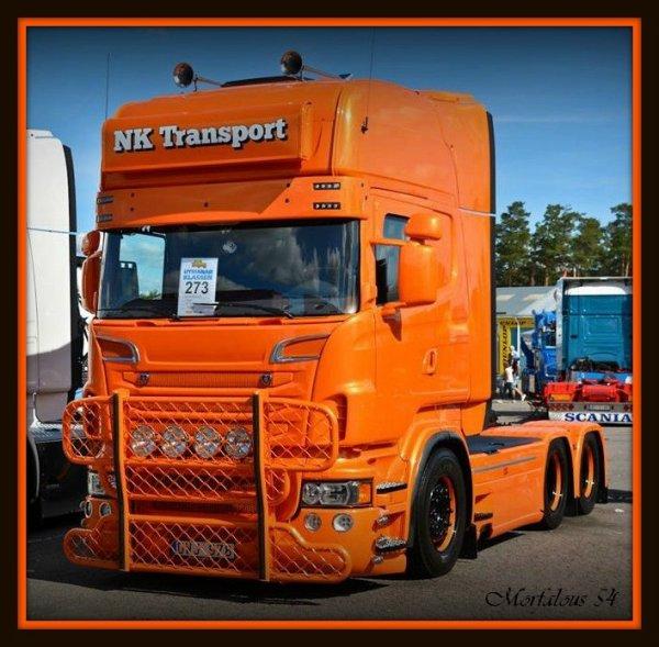 "... des camions "" tunés "" ..."