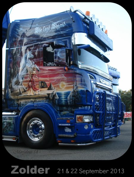 Le week-end prochain : la grande fete du camion en Belgique !