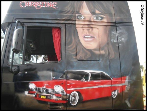 """Et c'était pour moi aussi l'occasion de découvrir son Daf """" Christine """""""